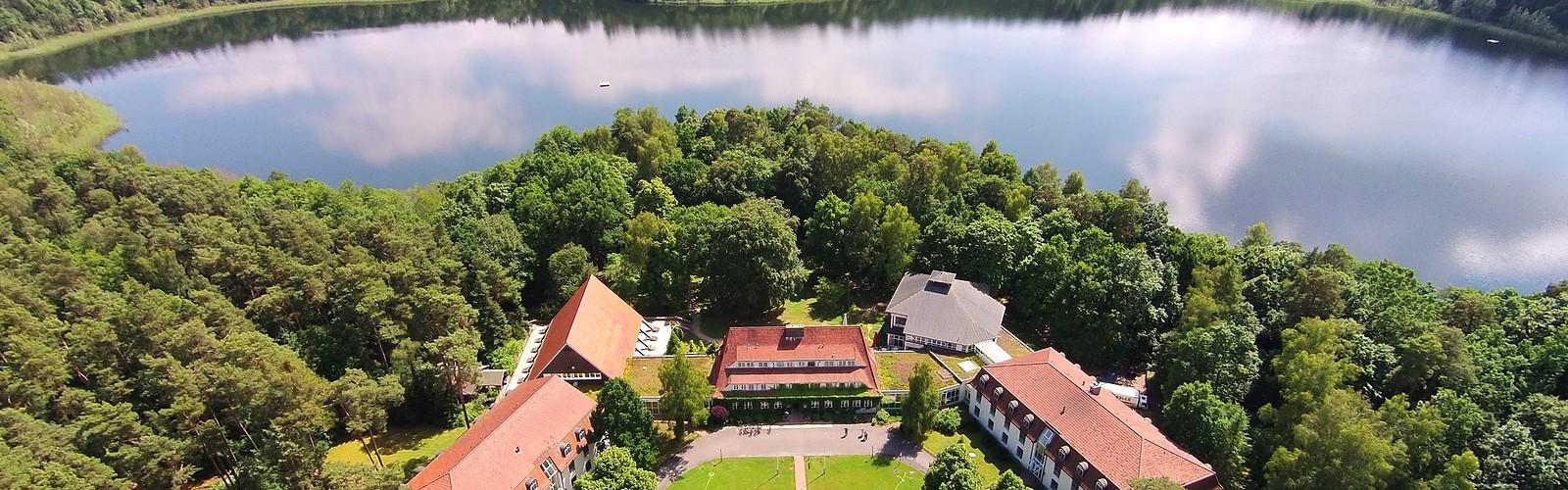 Aerial view, photo: Hotel Döllnsee-Schorfheide, Foto: Hotel Döllnsee-Schorfheide, Lizenz: Hotel Döllnsee-Schorfheide