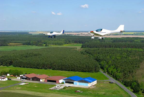 Flugplatz Oehna-Zellendorf, Foto: Fläming Air GmbH