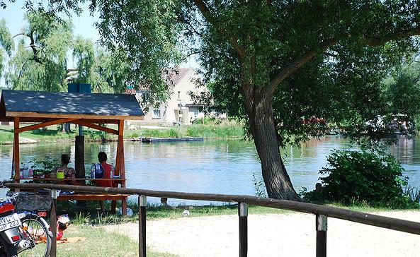 Naturbadestelle Milow, Foto: Tourismusverband Havelland e.V.