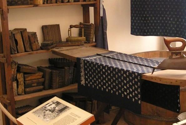 Blaudruckausstellung im Niederlausitzer Heidemuseum