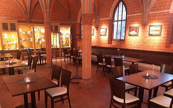 KlosterCafé im Dominikanerkloster Prenzlau