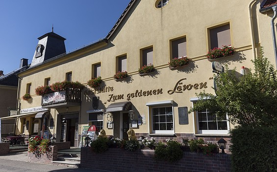 """Gaststätte """"Zum goldenen Löwen"""""""