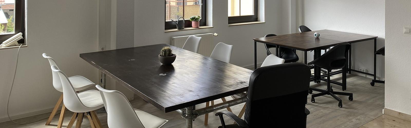 Shared-Desk-Bereich, Foto: KR Krisensicher Risikoberatung GmbH, Lizenz: KR Krisensicher Risikoberatung GmbH