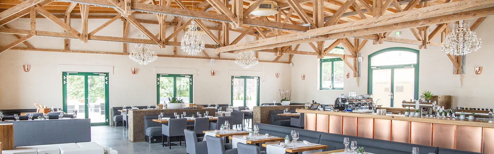 Restaurant Filterhaus, Foto: Karsten Wiesner