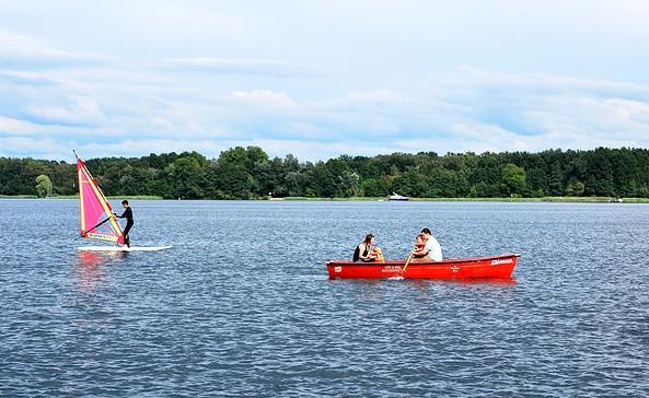 Wassersport, Foto: Tourismusverein Scharmützelsee e.V.