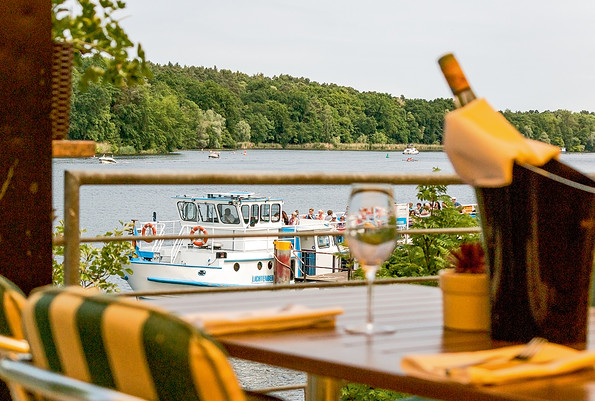 Restaurant am Griebnitzsee, Seeblick; Foto: Eggers