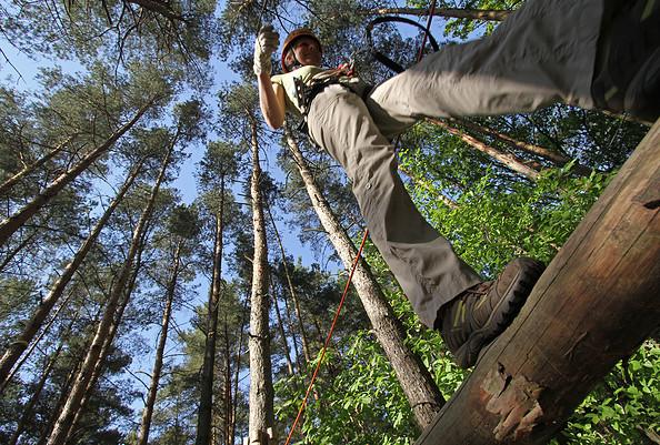 CLIMB UP! - Kletterwald ® - Hoch hinaus!
