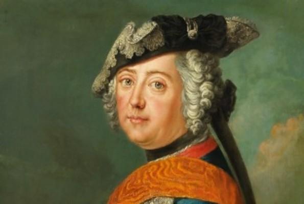 Werkstatt Antoine Pesne, Friedrich II. von Preußen, um 1750, Öl auf Leinwand, 75,0 x 55,6 cm © Potsdam Museum, Fotograf: Holger Vonderlind