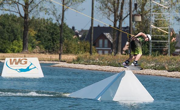 Wakeboard-Seilbahn, Foto: Wasserskilift in Großbeeren GmbH