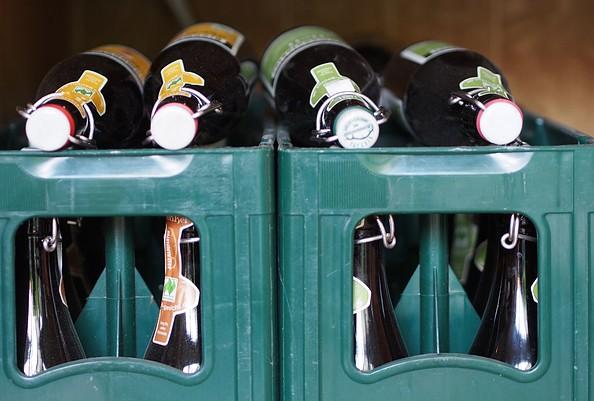 Biohof Ihlow - Bio-Bier, Foto: Marion Rothschild