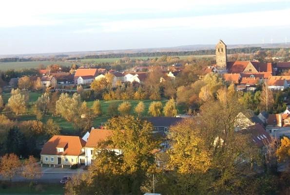 Burg Ziesar - Aussicht vom Burgturm, Foto: Bischofsresidenz Burg Ziesar