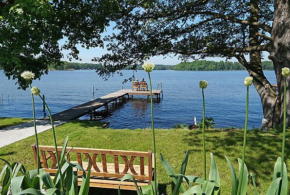 Refugium am See - Außenanlage, Foto: Tourismusverband Dahme-Seen e.V. / Familie Bohn