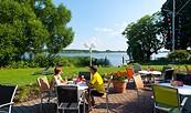 Terrasse Restaurant Beetzsee, Foto: Hotel Bollmannsruh am Beetzsee