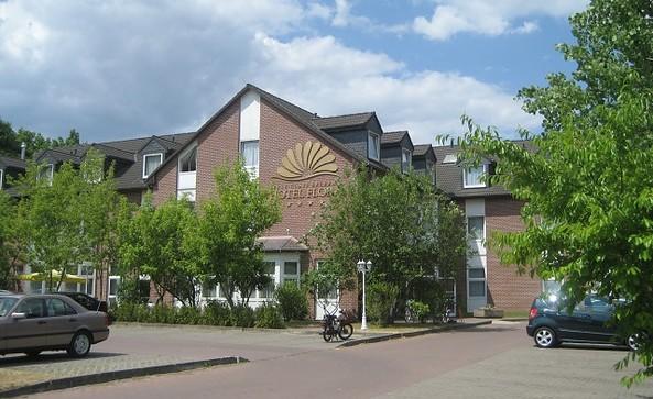 Hotel und Restaurant Flora, Außenansicht