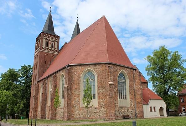 Kirche St. Sebastian in Baruth/Mark, Foto: Tourismusverband Fläming e.V./A.Michel