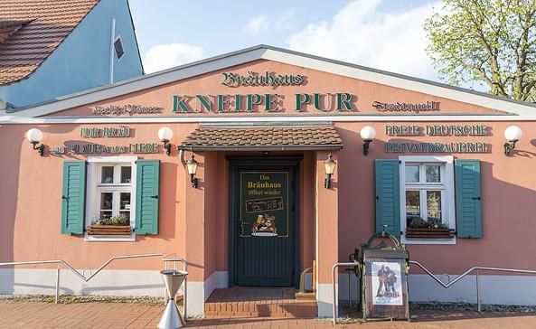 Bräuhaus Kneipe Pur in Plaue, Foto: TMB-Fotoarchiv/Steffen Lehmann