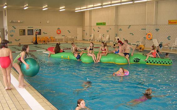 Schwimmhalle im Freizeitzentrum