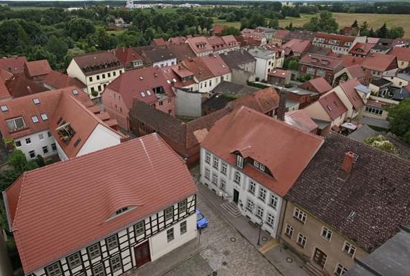Blick auf den Historischen Stadtkern Beelitz, Fotorechte: Henry Mundt