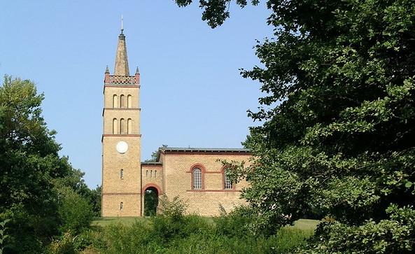 Kirche Petzow, Foto: Landkreis Potsdam-Mittelmark