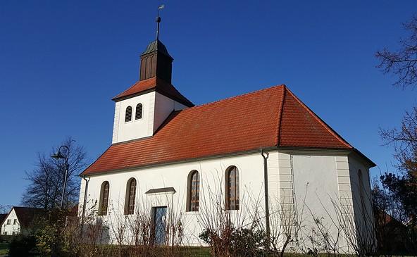 Kirche Mixdorf, Foto: Frau Fehse