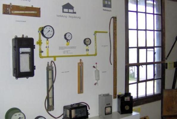 Technisches Denkmal Gaswerk Neustadt (Dosse) - Ausstellungsraum