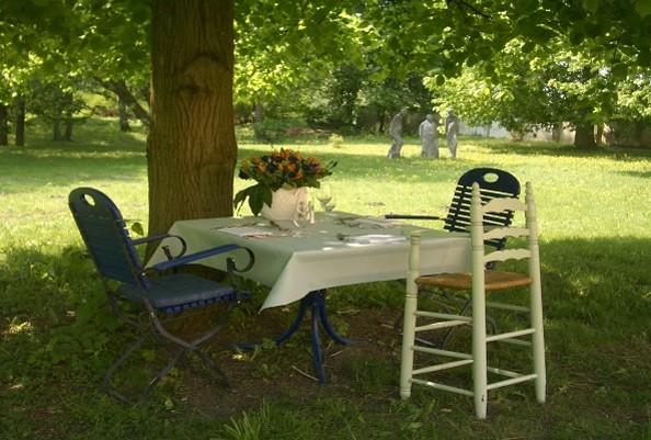 Speisen im Park, Foto: Schloss Ziethen
