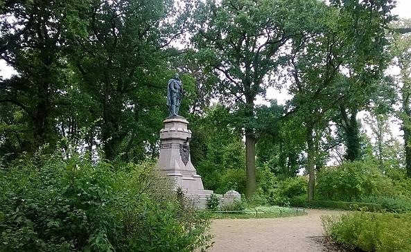 Hohenzollernpark Friesack, Foto: Landkreis Havelland