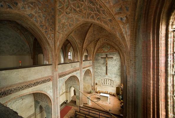 Die Burgkapelle von Ziesar, Foto: Bischofsresidenz Burg Ziesar