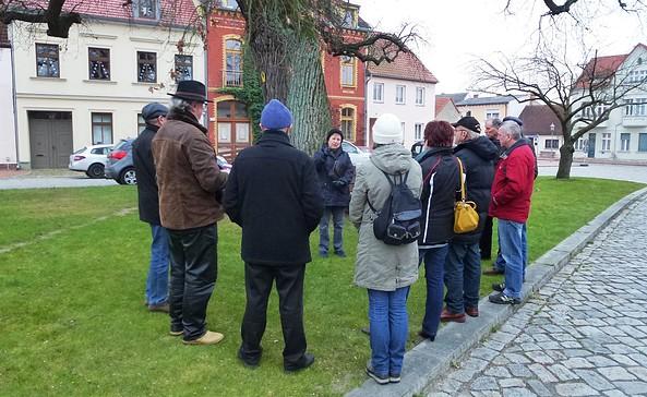 Stadtführung in Mittenwalde, Foto: Tourismusverband Dahme-Seen e.V.