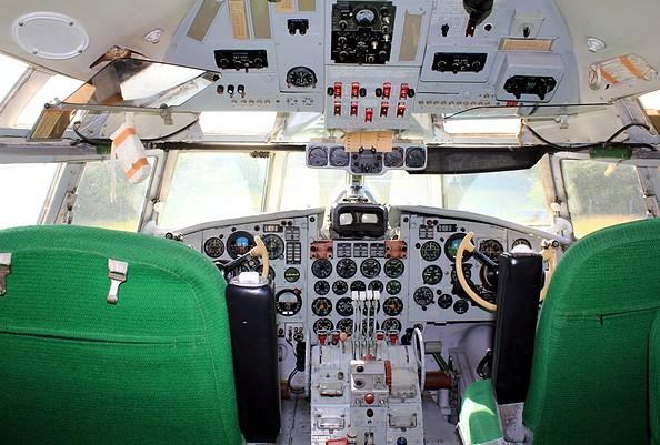 Blick ins Cockpit, Foto: H. Bansen