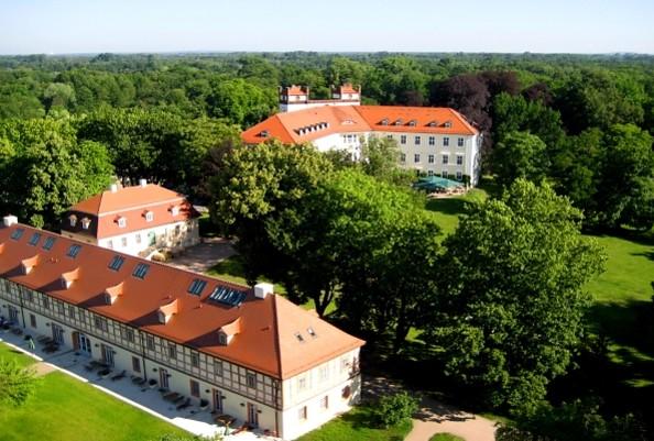 Luftaufnahme Schloss Lübbenau, Foto: Marcel Blasseck