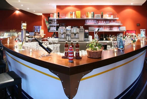Bar, Foto: Maritim Hafenhotel Rheinsberg