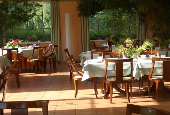 """Restaurant """"Die Orangerie"""" im Hotel Schloss Ziethen, Foto: Schloss Ziethen"""