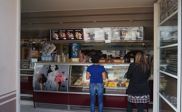 "Eiscafé ""Dolci e gelati"", Foto: Jan Hoffmann"