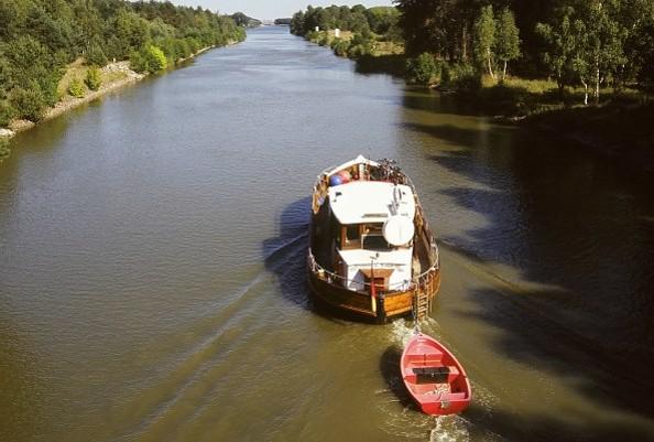 Auf dem Oder-Havelkanal, Foto: TMB-Fotoarchiv/Korall