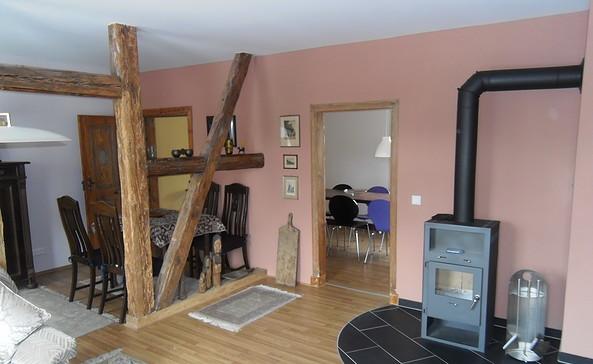 Wohnraum im Erdgeschoss, Foto: K. Lehmann