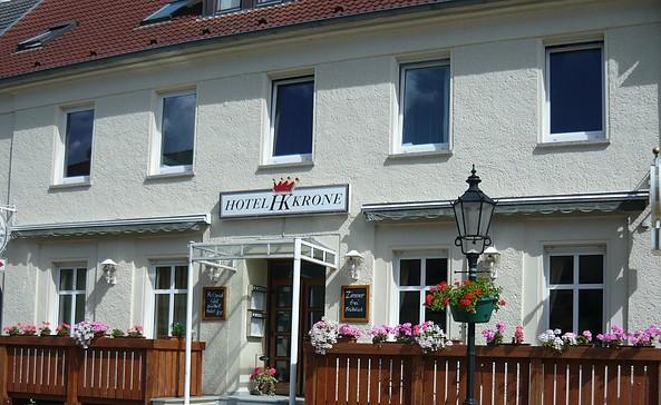 """Hotel """"Krone"""" in Lindow (Mark)"""