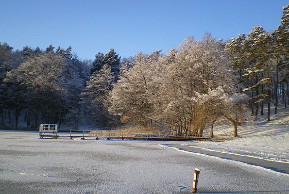 Großer Prebelower See Winter