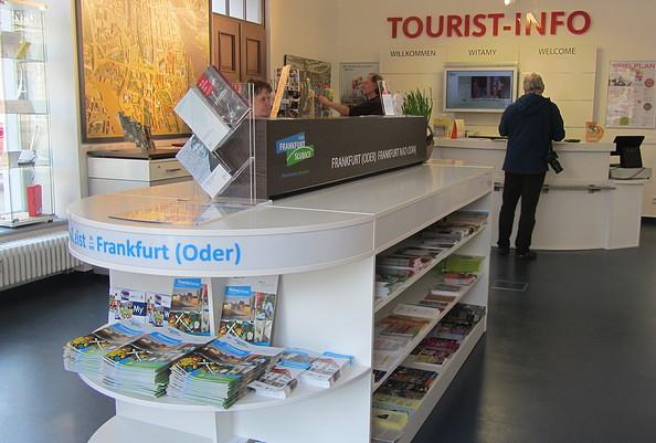 Deutsch-Polnische Tourist-Information Frankfurt (Oder); Foto: TAB