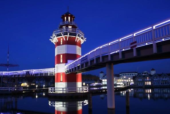 Der Leuchtturm, Foto: Maritim Hafenhotel Rheinsberg