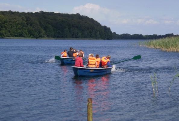 Boot auf einem See © Thomsdorf