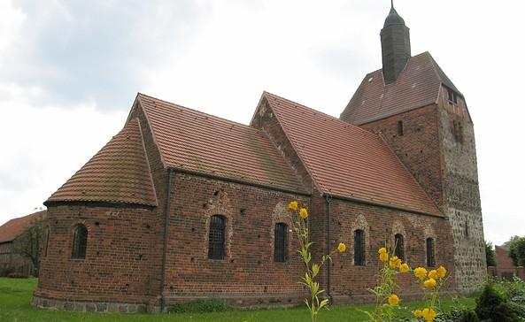 Dorfkirche Pechüle, Foto: Tourismusverband Fläming e.V./C. Wittig