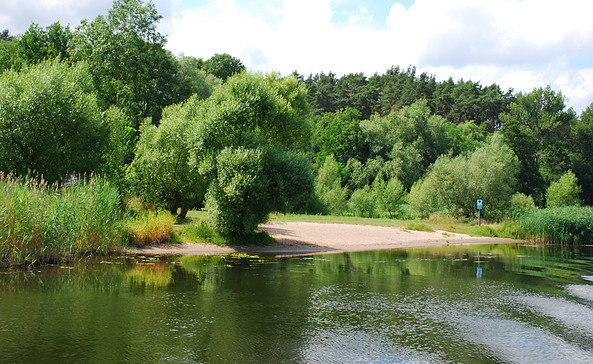 Naturbadestelle Göttlin, Foto: Tourismusverband Havelland e.V.