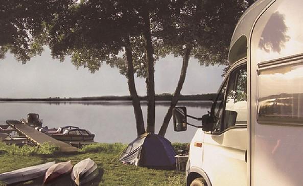 "Gastliegeplatz ""Campingpark Himmelpfort"" am Stolpsee"