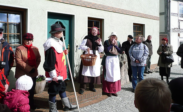 Stadtführung in Wusterhausen/Dosse