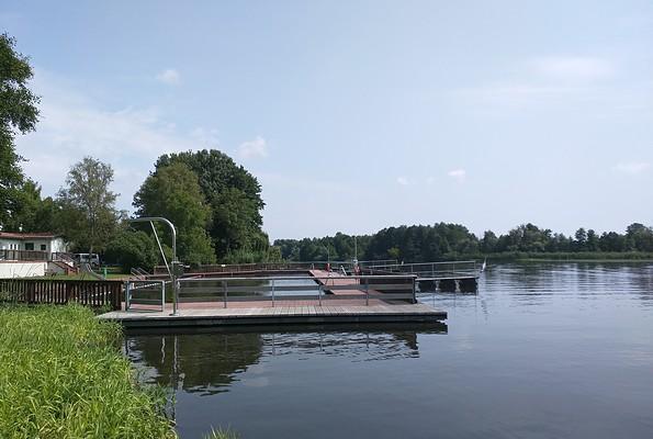 Flussbadestelle Beeskow, Foto: Steffen Lelewel