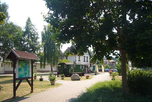 Touristinformation Schwielochsee in Goyatz, Foto: TAB
