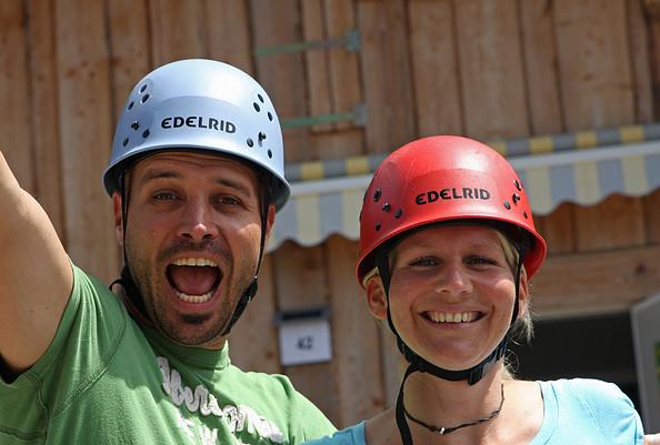 CLIMB UP! - Kletterwald ® - Geschafft