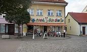Italienisches Eiscafé, Foto: Jan Hoffmann