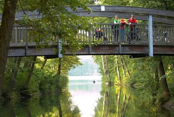 Auf dem Radweg: Werbellinkanal, Foto: WITO GmbH